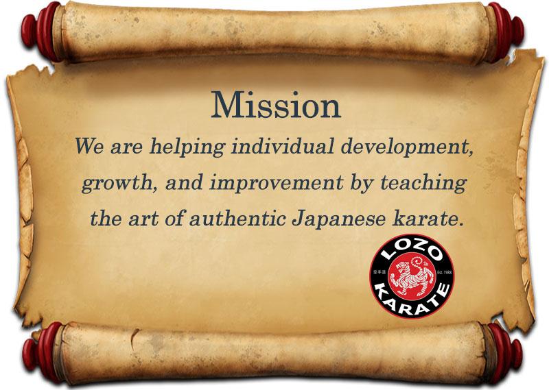 Lozo Karate Mission